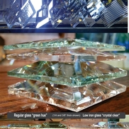 Glass, Beveled Parts & Metal Components